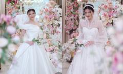 Váy cưới hợp mốt cho cô dâu chào bàn