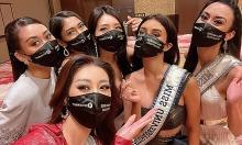 Ảnh sao 9/5: Khánh Vân đọ sắc dàn người đẹp Miss Universe