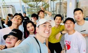 Ảnh sao 10/5: Karik bên dàn nghệ sĩ Running Man Vietnam
