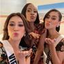 Khánh Vân mang đồ bộ đến Miss Universe