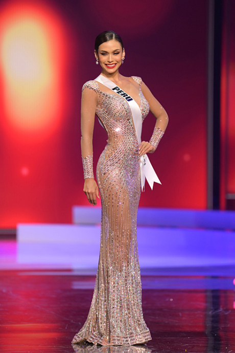 Thí sinh Miss Universe quyến rũ với đầm dạ hội đêm bán kết