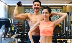 Lý Nhược Đồng so cơ bắp với Trương Phong Nghị