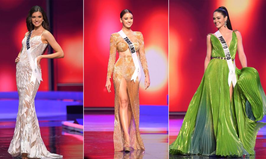 15 bộ đầm dạ hội đẹp nhất bán kết Miss Universe