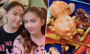 Ngọc Trinh 'bóc tem' nhà hàng Nhật mới mở của Quỳnh Thư