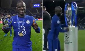 Sao Chelsea không hôn Cup Champions League