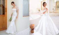 4 váy cưới tối giản 'bắt trend' để chụp hình