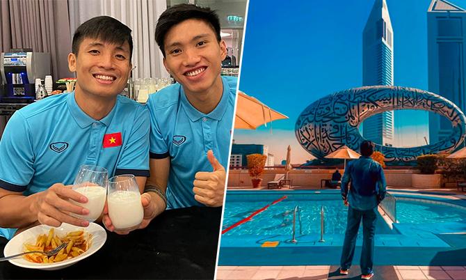 'Nơi ăn chốn ở' của tuyển Việt Nam tại Dubai