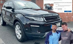 Xe Aguero tặng nhân viên Man City được rao bán
