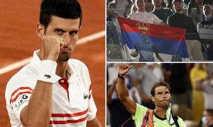 Khán giả được phá lệnh giới nghiêm vì cuộc so tài Nadal - Djokovic