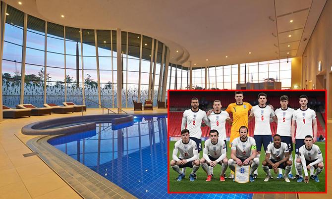Khách sạn đại bản doanh của đội tuyển Anh ở Euro