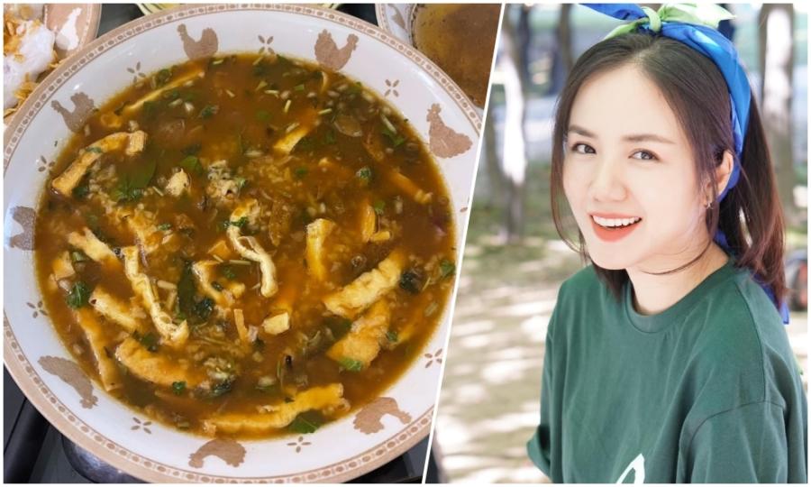 Phương Ly mê cháo lươn, bánh cuốn Thanh Hóa