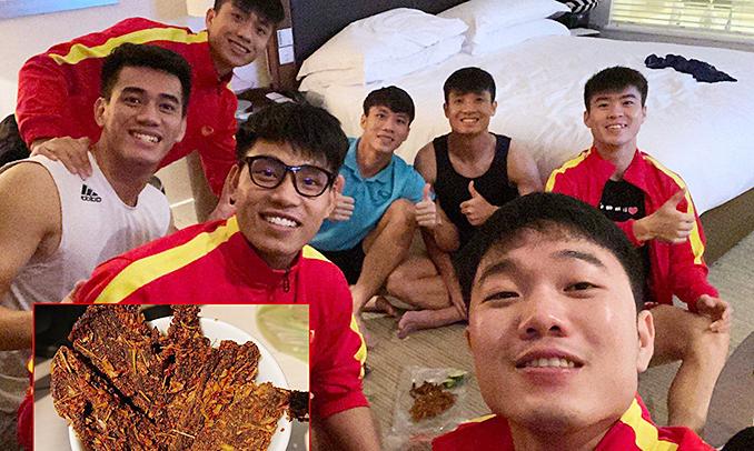 Tuyển Việt Nam ăn gì khi đi thi đấu ở Dubai