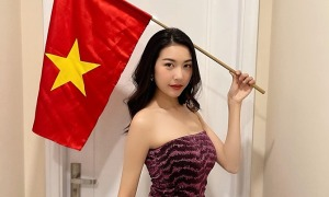 Ảnh sao 16/6: Thúy Vân không phục trọng tài trận Việt Nam - UAE