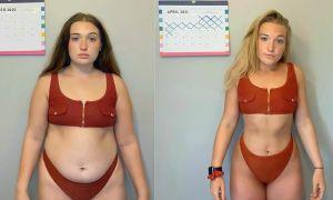 Lột xác sau khi giảm 13 kg trong 6 tháng
