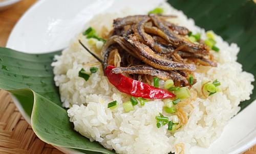 Xôi cá khô Nha Trang