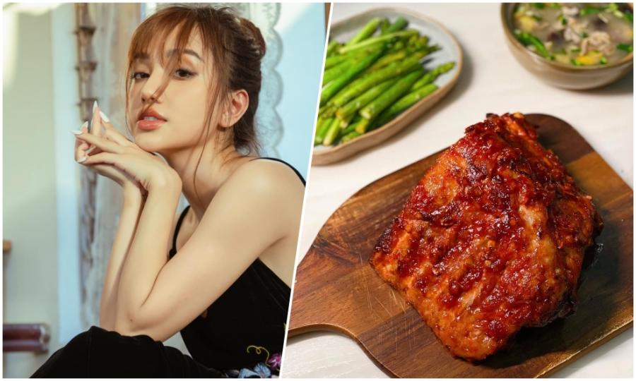 Công thức nướng sườn tảng thấm vị trong 30 phút của cô gái Hà Nội