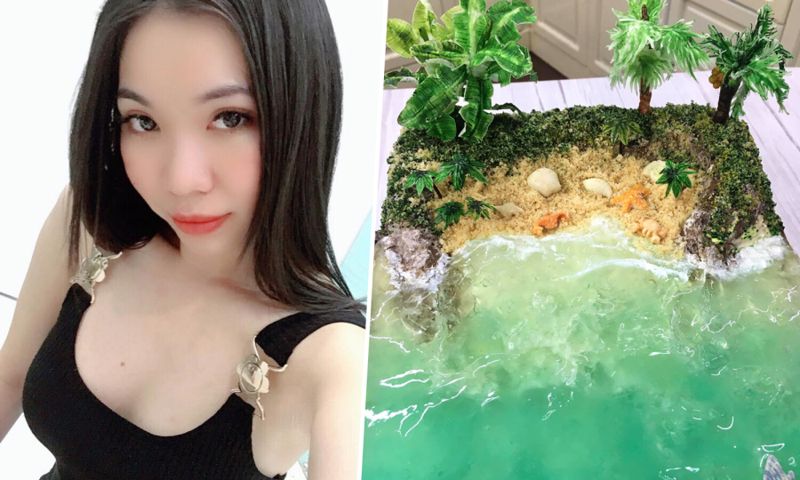 Bánh bãi biển 'gây sốt' hội yêu bếp của cô gái An Giang