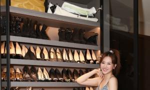 Hari Won khoe bộ sưu tập giày tiền tỷ