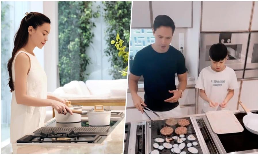 Kim Lý, Subeo nấu ăn cho Hà Hồ