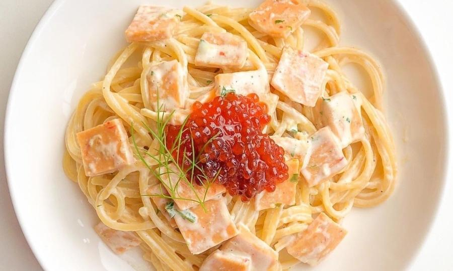 Spaghetti kem béo ngậy dễ làm