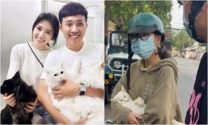 Hari Won phủ nhận bênh vực cô gái ở Long An bế mèo đi khám