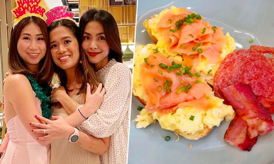 Chị chồng Hà Tăng thừa hưởng khả năng nấu nướng từ mẹ