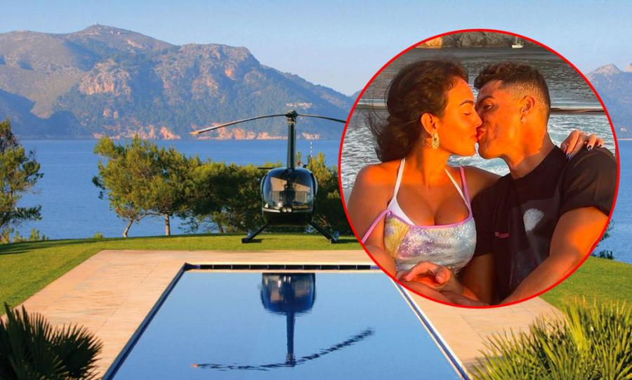 Biệt thự 300 triệu đồng/đêm C. Ronaldo nghỉ ngơi với gia đình