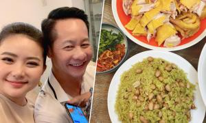 Phan Như Thảo nấu xôi ngày càng ngon nhờ chồng
