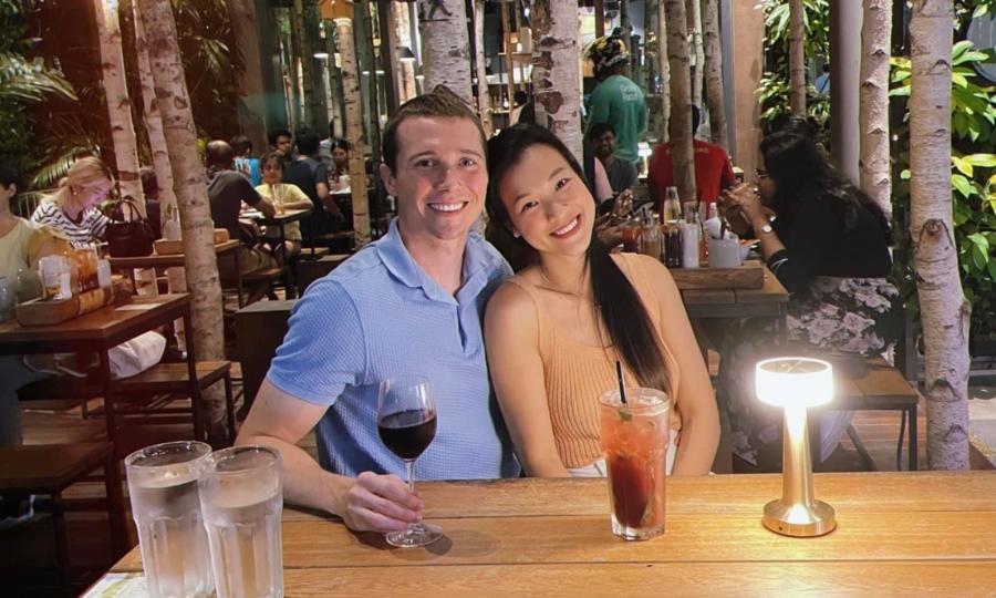 Quán cà phê nơi vợ chồng Hoàng Oanh 'trốn con' hẹn hò