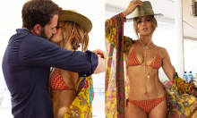 Jennifer Lopez công khai tình yêu với Ben Affleck trên Instagram