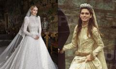 Cháu gái Diana diện váy cưới nhắc tới mẹ