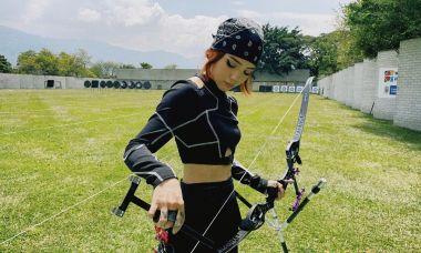 Hot girl bắn cung Olympic chuộng kẻ mắt, mê xăm hình