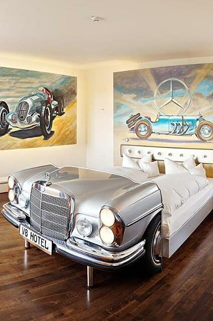 Khách sạn cho những người mê ôtô
