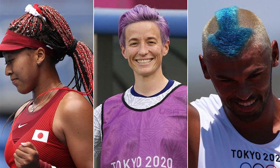 Những mái tóc nổi bật tại Olympic Tokyo