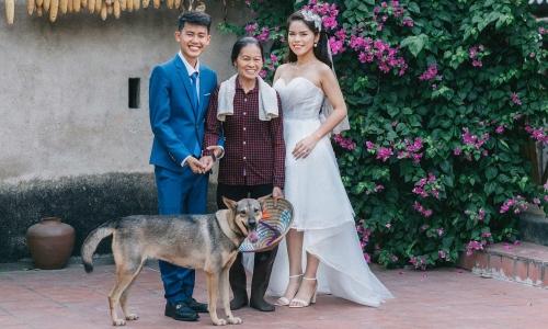 Chủ nhân kênh 'Ẩm thực mẹ làm' chụp ảnh cưới tại nhà
