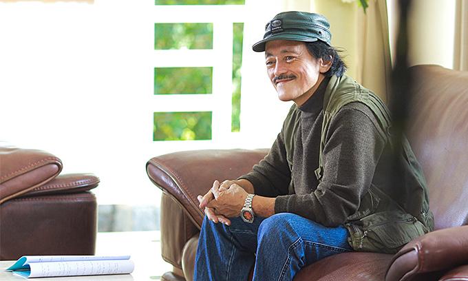 Nghệ sĩ Giang Còi muốn được chôn cùng cây đàn guitar