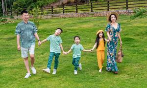 Ốc Thanh Vân 'bày việc' cho các con bận cả ngày