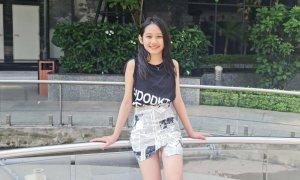 Con gái Minh Tiệp 10 tuổi, cao 156 cm