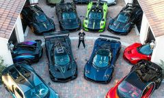 Đại gia trẻ sở hữu 7 siêu xe cùng một thương hiệu