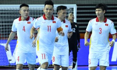 Tuyển futsal Việt Nam thắng trận đầu ở World Cup 2021