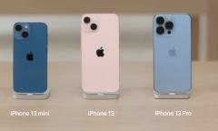 Người dùng thích thú với iPhone 13 màu hồng