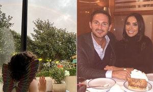 Sinh nhật cầu vồng thành thật của con gái Lampard