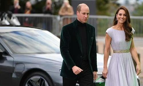 William, Kate đi Audi điện