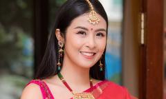 Ngọc Hân lần đầu diện trang phục Ấn Độ