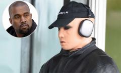 Kanye West hóa trang như phụ nữ khi rời sân bay