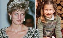 Charlotte sẽ thừa kế vương miện từ Công nương Diana