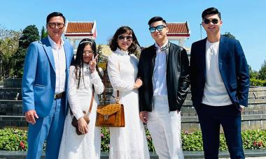 Vợ con hai danh thủ Huỳnh Đức, Hồng Sơn